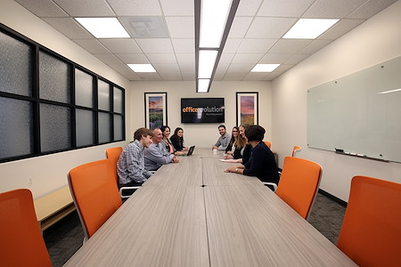 Office Evolution - One Cherry Creek - Conference Room 1 (8 ppl w/Social Dist)