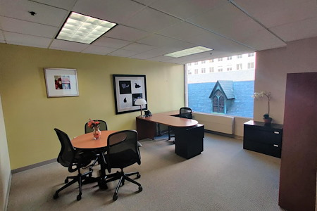Carr Workplaces - City Center - 518 & 518A: 2-Office Corner Suite