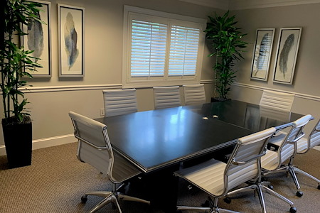 Byron Office Space Solutions-Greensboro Suburban Office - C) Medium Conference Room