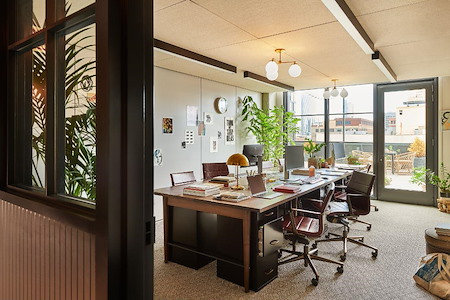 Working From_ - Private Studio #405 with terrace door
