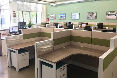Alfi Trade Inc. - Large Fancy Cubicle Desk Space (Desk 13)