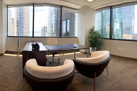 Brickell Business Center - Executive Office for 4-6 with city views
