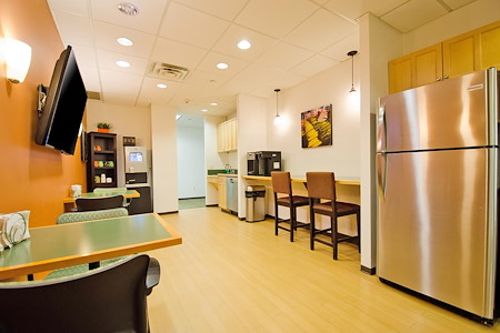 Carr Workplaces - Westchester - Cafe Plan
