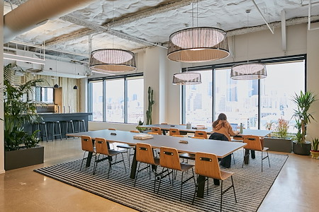 CENTRL Office - Downtown - Tables
