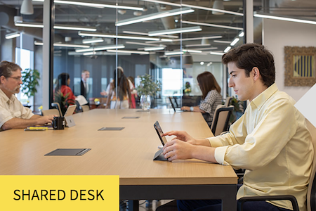 Venture X | West Palm Beach Rosemary Square - Shared Desk