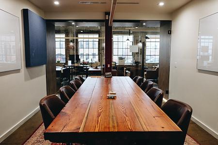 Backlot Studio and Workspace - Modern Conference Room