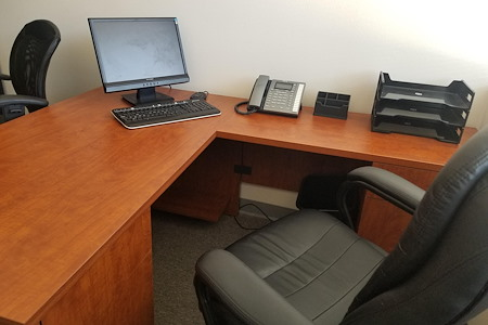 Professional Work Space - Executive (Private and Secured) Office