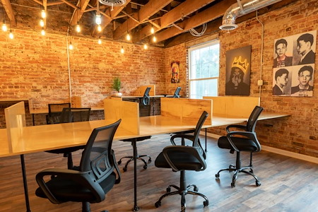 Main Street Coffee and Coworking - Flex Desk