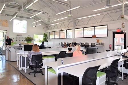 Station Coworking at Ambler Yards - Open Desk Seating