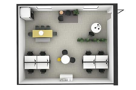 AIP |  901 Greene Street - Room 63 - Premium Furnishing Option
