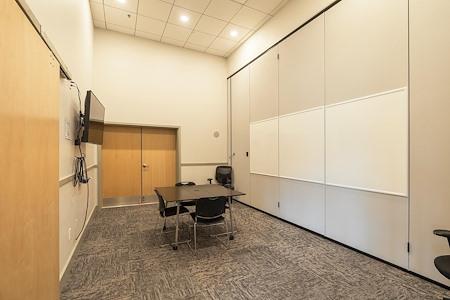 NiCHE Workspaces North Boulder - Blue Conference Room