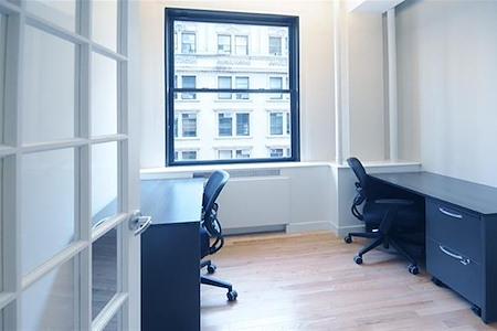 Select Office Suites - 90 Broad St. - Private windowed office for 1-2 desks