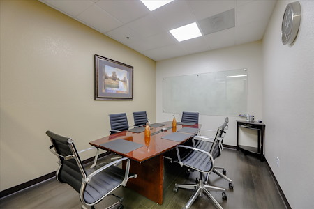 Pleasanton Workspace - Meeting Room with Rectangular Table