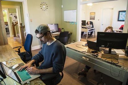 Creative Density | Uptown - Permanent Desk