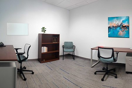 Metro Offices - One Metro Center - Private Interior office $1250/mo