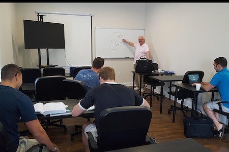 SageAbility Rooms with onsite Pearson Testing Center - ParkSpace - Training Room