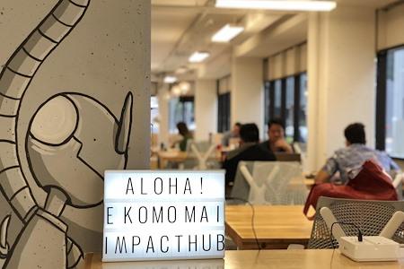 Hub Coworking Hawaii - Open Desk