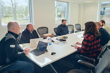 Station Coworking at Ambler Yards - AmChem Conference Room