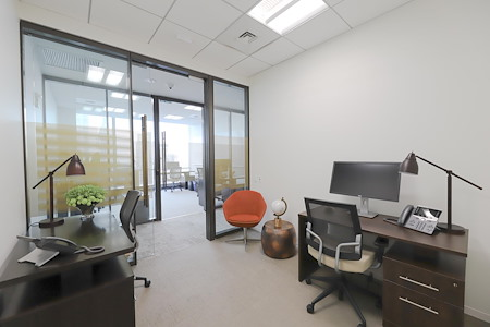 Inspire Workspace - 7 World Trade Center - 1-3 Person Interior Suite