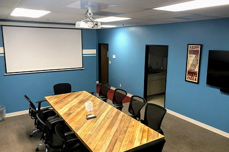 StageOne Creative Spaces: Milpitas - Large Meeting Rm w/ projector
