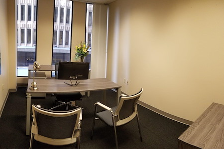Peachtree Offices at Downtown, Inc. - Window Office
