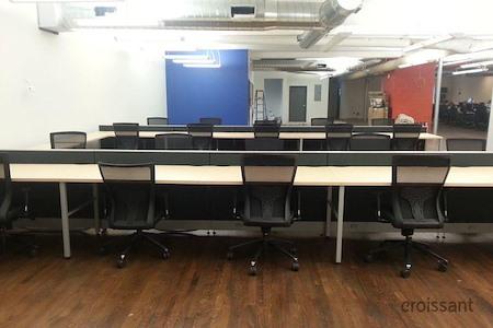 LaunchPad Huntington - Flex Desk 1