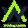 Logo of Alexa's Workspaces at Hollywood