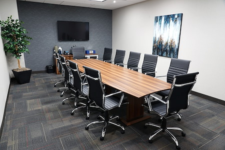 Executive Workspace  Las Colinas - Large Conference Room