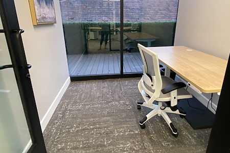 The Post Workspaces - One Person Private Office