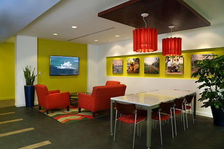 Carr Workplaces - K Street - Coworking Cafe Plan