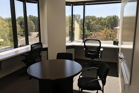 Apcela Co-Working Space @ Wiehle Reston East Metro - Desk with a View