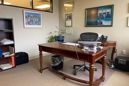 Gaggos Flaggman, PLLC - Large Private Office with Window