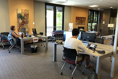Victory Workspace (Formerly Laptop Lounge) - Community Seating