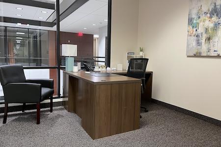 Executive Workspace  Allen - Private Interior Office