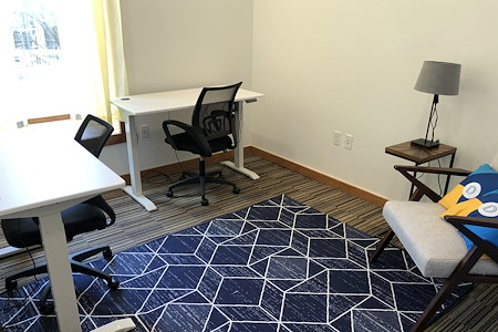 Draper Startup House Austin - Private Office Overlooking 6th Street