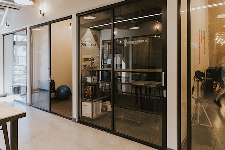 Fort Worth Coffee Co - Workspace - Team office