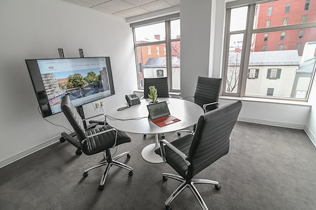 Oval Offices DC - Zoom Meeting Room - Suite 310