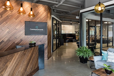 CommonGrounds Workspace | Carlsbad - Communal Desk