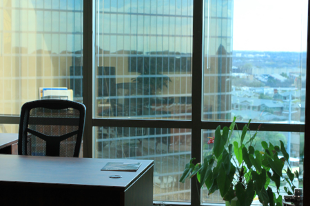 Private Offices for Attorneys - Spacious 3-window office