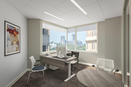 Office Evolution Arlington-Rosslyn - Cathedral Executive Corner Office