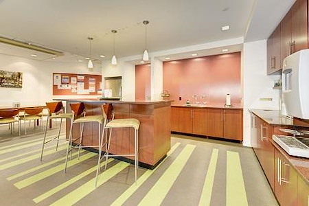 Carr Workplaces - Tysons - Café Plan at Carr Workplaces