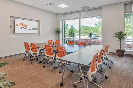Office Evolution - Jacksonville Bartram - Oak Room- Large Conference Room