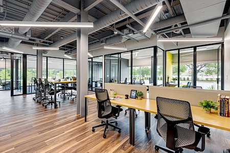 Venture X | Grapevine - DFW Airport North - Open Work Space