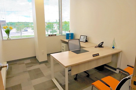 Office Evolution - Woodbridge/Metropark - Office 312  with a View