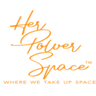 Logo of Her Power Space - Woman forward, Men welcoming!