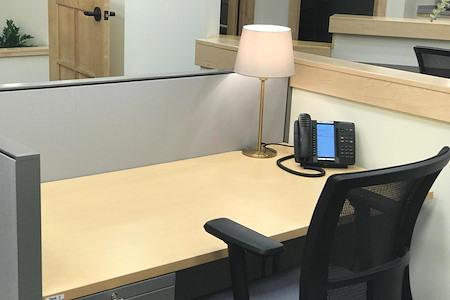 Bethesda Business Center - Dedicated Workstation