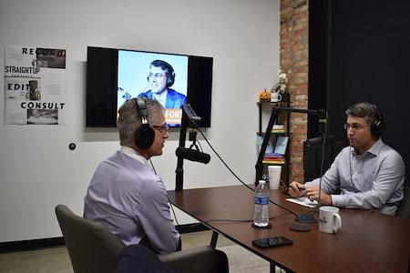 Straight Up Podcasts Studio - Straight Up Podcasts studio