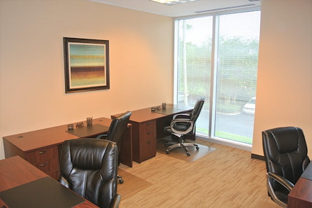 Orlando Office Center at Research Park - Office #208 - 4 Desk Window Office