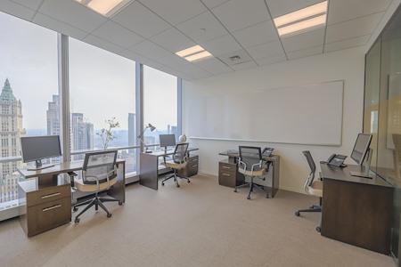 Inspire Workspace - 7 World Trade Center - Three Window Office