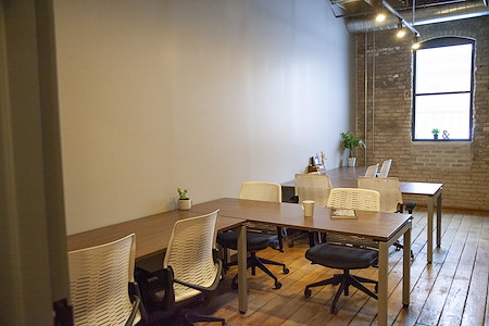 Fueled Collective – Minneapolis Northeast - Sunny startup suite